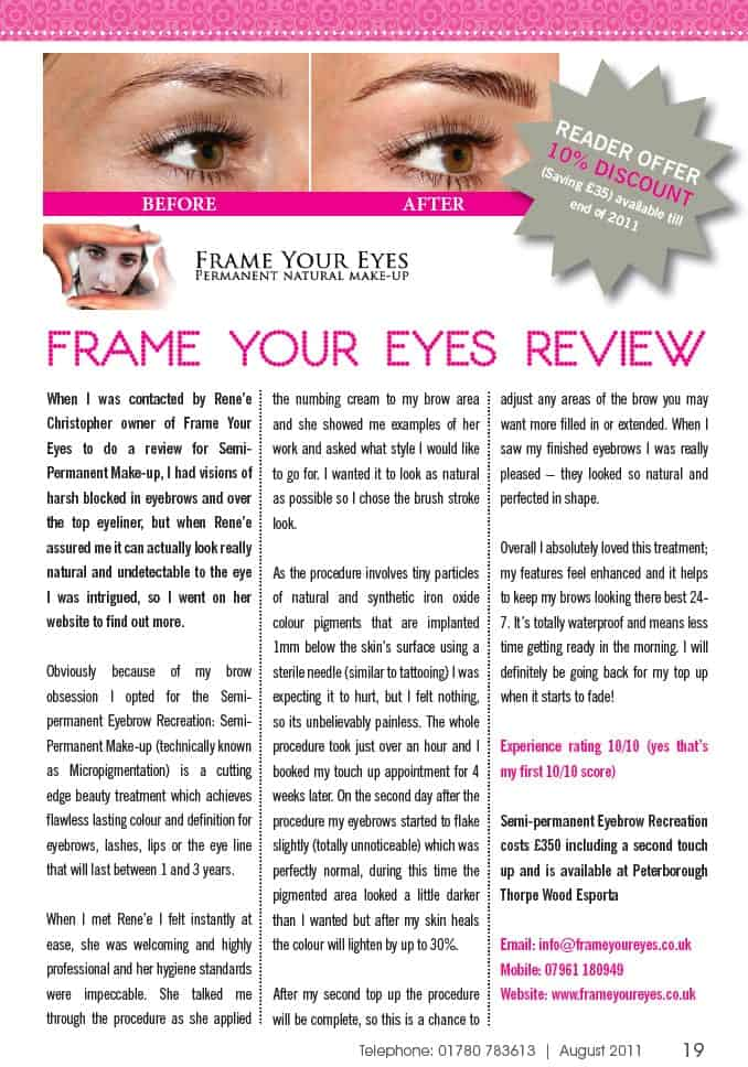 Frame Your Eyes Review